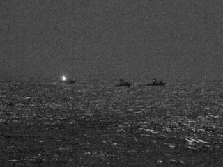 В Персидском заливе корабли США открыли предупредительный огонь