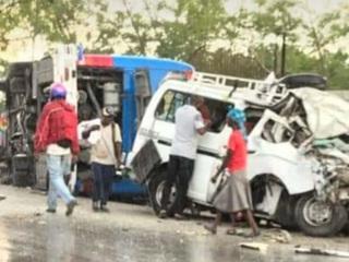 На Гаити 21 человек погиб и около 30 пострадали в крупном ДТП
