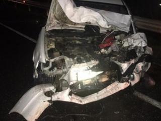 В Красноярском крае 10 человек пострадали в аварии на трассе