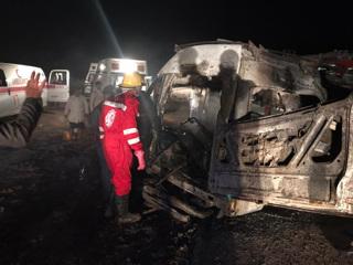 В Ираке 14 человек погибли в автокатастрофе