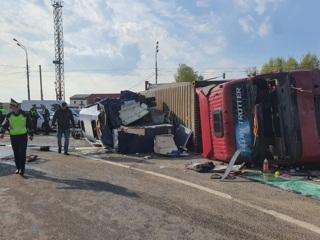 В результате ДТП в Смоленской области пострадали 13 иностранцев