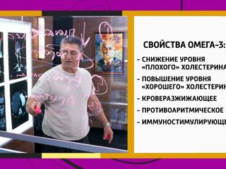 Омега-3: рекомендации Александра Мясникова