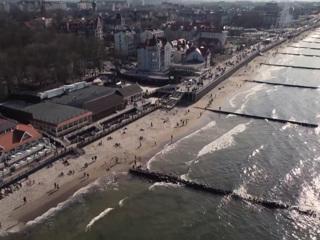 Вести в 20:00. Российская Прибалтика встретила туристов солнцем и лазурным морем