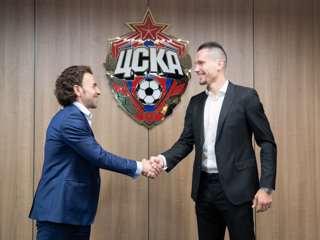 ЦСКА подписал контракт с нападающим Антоном Заболотным