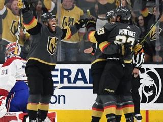 'Вегас' обыграл 'Монреаль' на старте полуфинальной серии Кубка Стэнли