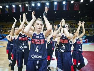 Российские баскетболистки досрочно вышли в плей-офф чемпионата Европы