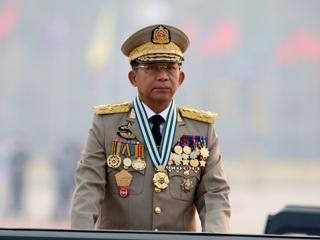 Глава военного правительства Мьянмы прибыл в Москву