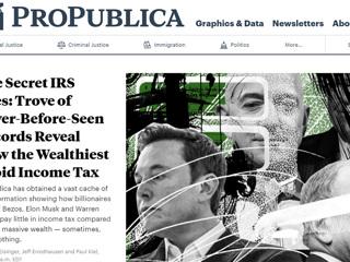 В США данные о налогах богатейших американцев вызвали скандал
