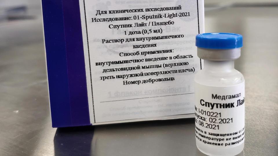 Профессор Зуев сравнил вакцины 'Спутник V' и 'Спутник Лайт'