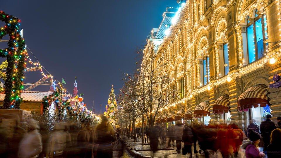 Россиянам пообещали 'температурный градиент' в новогоднюю ночь