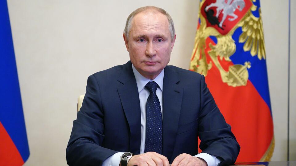 Путин, Макрон и Меркель обсудили Украину без Зеленского