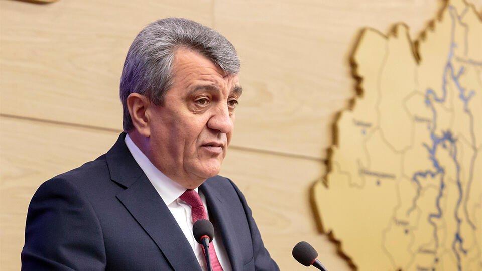Врио главы Северной Осетии Меняйло отправил правительство в отставку