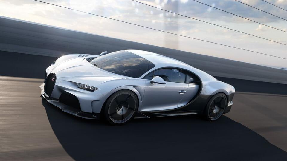 Bugatti анонсировала новый суперкар за 3,9 миллиона долларов
