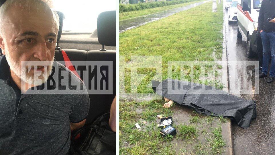 Очевидец выбил нож из рук таксиста, убившего водителя в Москве