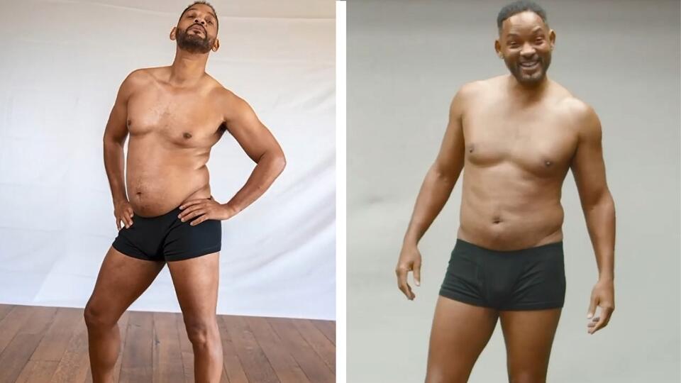 Уилл Смит похвастался телом через 3 недели после фото в 'худшей форме'