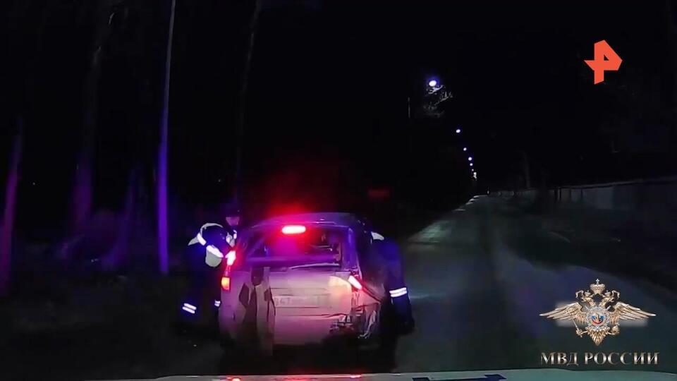 'Голливудскую' погоню за пьяным водителем в Марий Эл сняли на видео