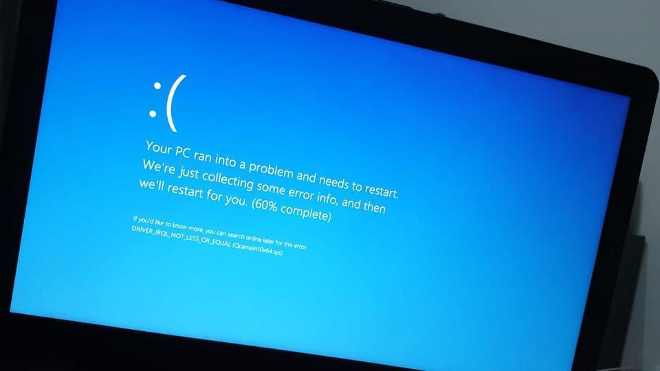 Обновление Windows сломало компьютеры и вызвало 'синий экран смерти'