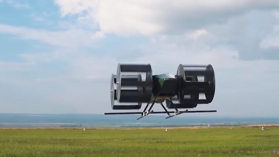 Циклолет: как в России создают летающий автомобиль будущего