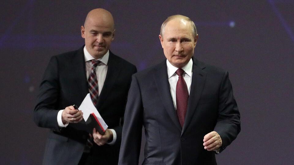 Путин: Завершена укладка первой нитки 'Северного потока - 2'