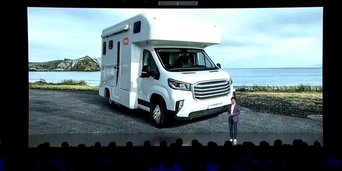 Первый автомобиль Xiaomi оказался кемпером