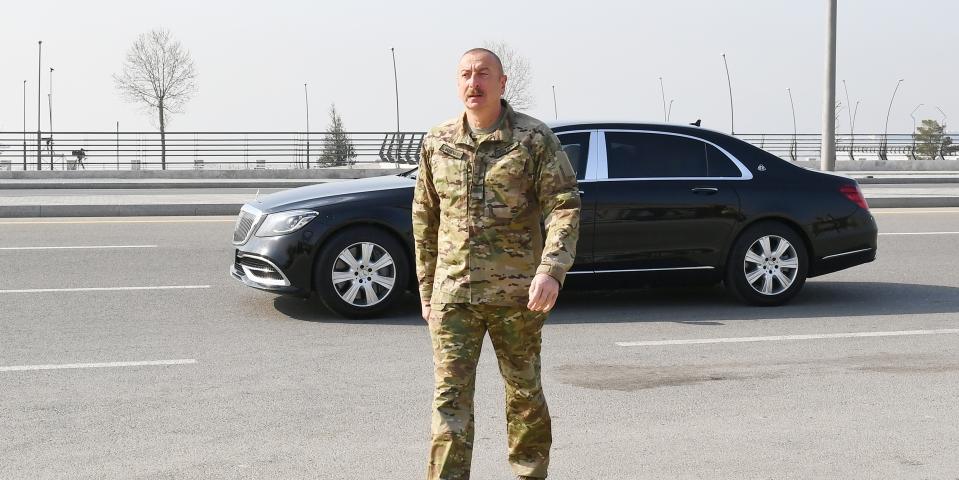 Алиев: Баку ждет ответа, откуда Ереван получил ракеты 'Искандер-М'