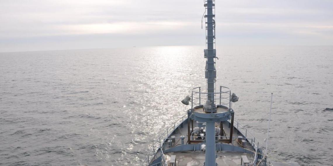 Украинский флот вместе с НАТО потренировался отражать атаку в Черном море