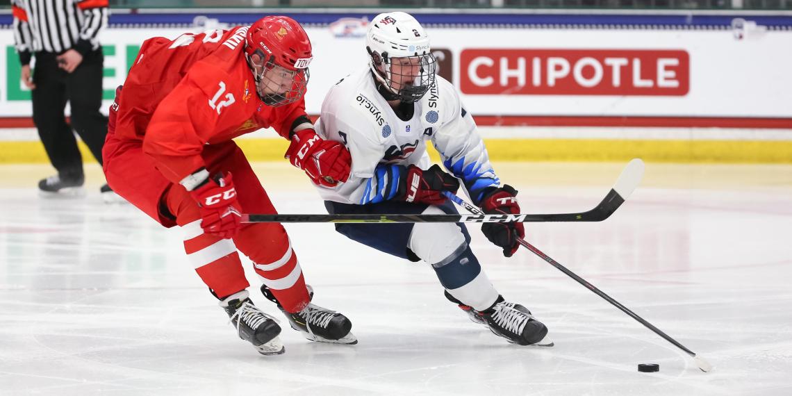 Российские юниоры обыграли США на ЧМ по хоккею, проигрывая 1:5