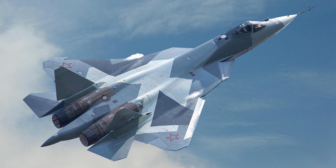 На истребителе Су-57 испытали макеты новой гиперзвуковой ракеты