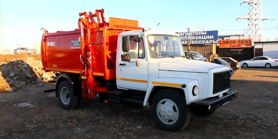 Россия подарила Сьерра-Леоне 50 мусоровозов