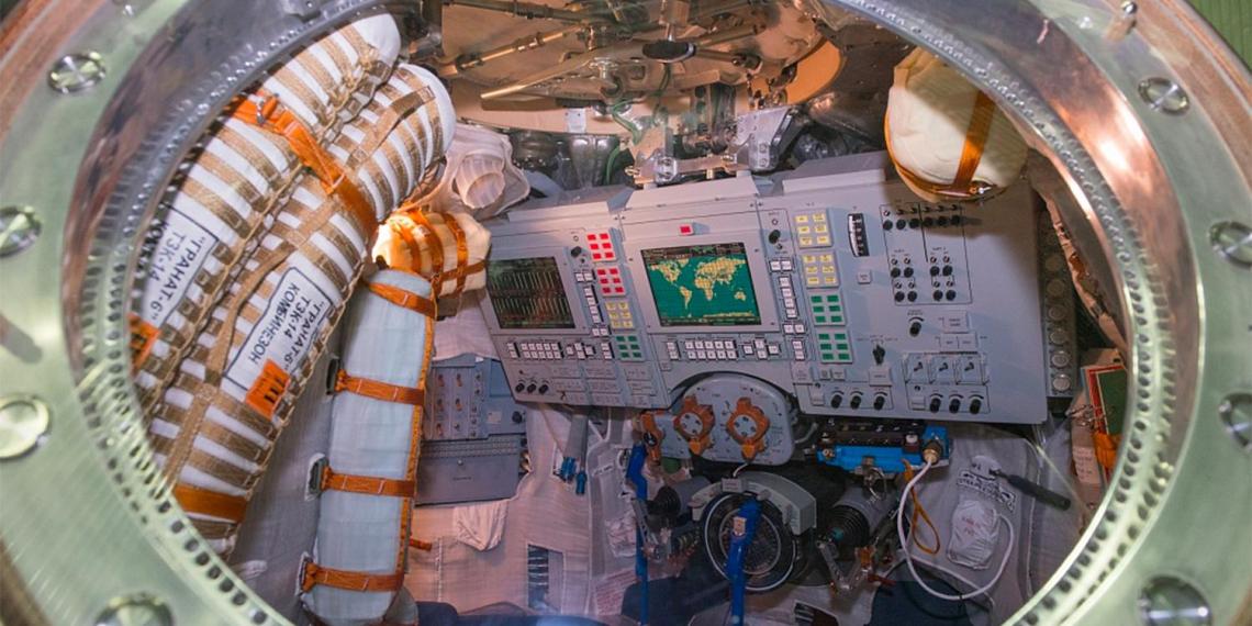 'Роскосмос' выставил на продажу спускаемый аппарат 'Союза'