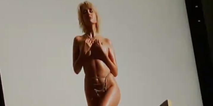 Клава Кока показала кадры с эротической фотосессии для Playboy