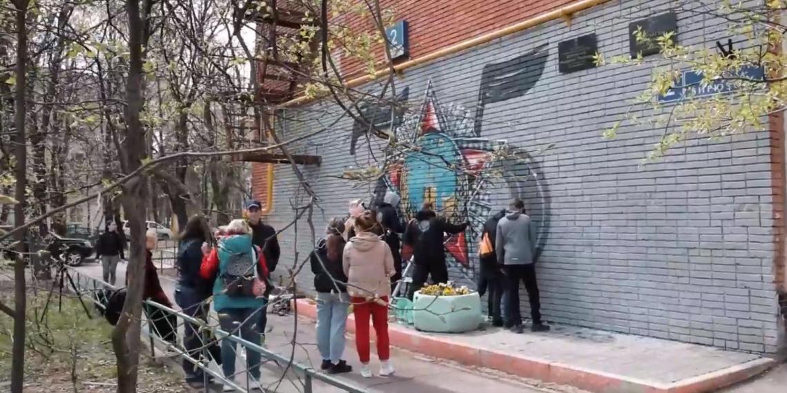 РДШ провело акцию 'Несокрушимые Герои'