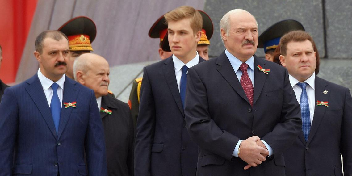 Пост главы НОК Белоруссии вместо Лукашенко занял Лукашенко