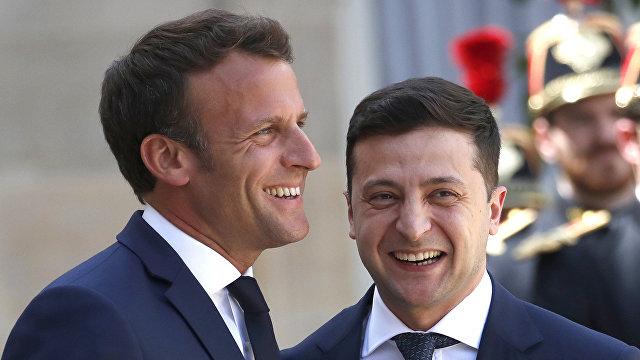 Le Figaro (Франция): Киев и Париж заключили соглашения на 1,3 миллиарда евро