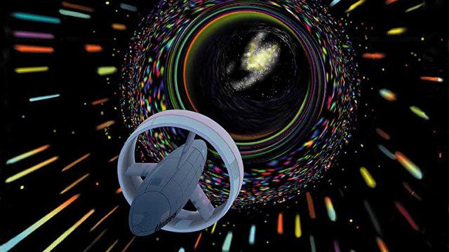 Scientific American (США): новое исследование обосновало возможность существования кротовых нор в пространстве-времени