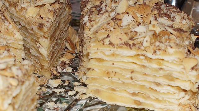 Асахи симбун (Япония): популярный в Грузии десерт, названный в честь Наполеона