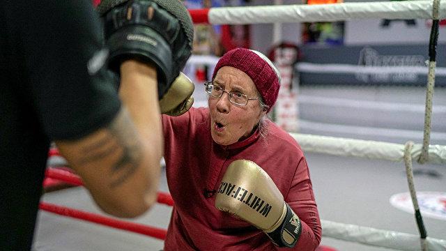 Reuters (Великобритания): Нэнси Ван Дер Страттен занимается боксом для борьбы с болезнью Паркинсона