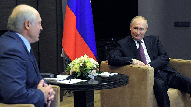 Белорусские новости (Белоруссия): Лукашенко и Путин общались в Сочи более пяти часов. Итоговых заявлений не будет