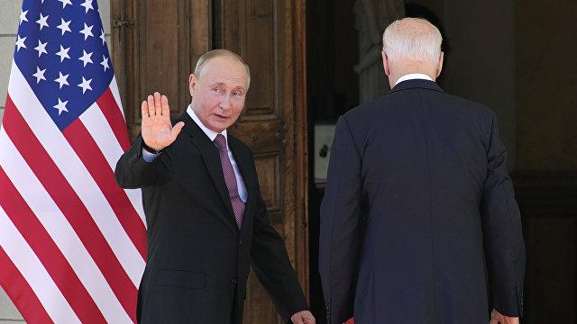 Байден — Путин: 0:1 (Труд, Болгария)