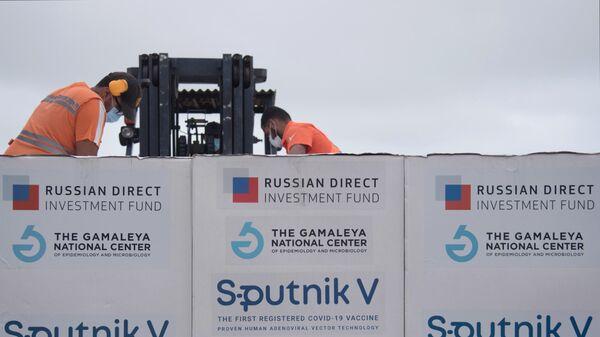 В Монголию доставили партию вакцины 'Спутник V'