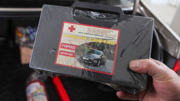 Эксперты рассказали, как собрать автомобильную аптечку