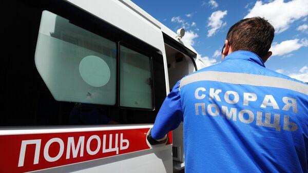 В Ростовской области автобус столкнулся с грузовиком, один пассажир погиб