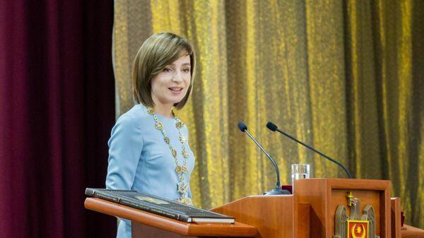 КС Молдавии признал право Санду распустить парламент