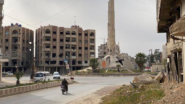 Российские военные доставили помощь в христианскую церковь в Сирии