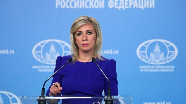 Захарова оценила угрозы США ввести новые санкции