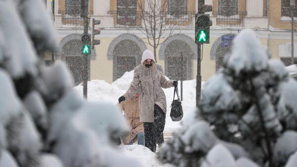 Москвичей в среду ожидает небольшой снег и морозы до минус десяти