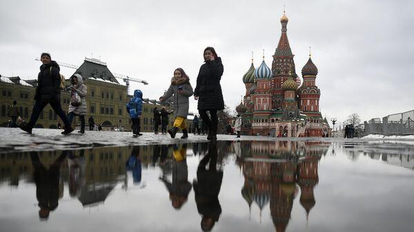 Во вторник в Москве ожидается мокрый снег с дождем, гололедица и до 4