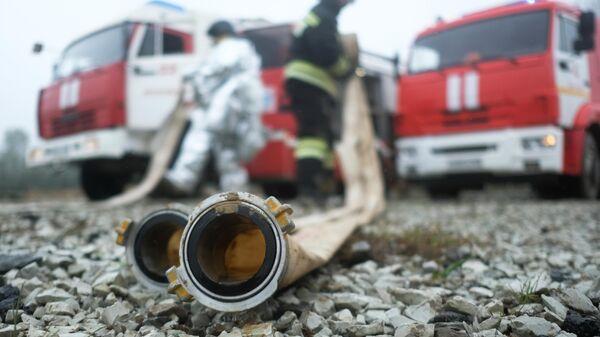 В селе в Пермском крае произошел пожар в частном доме
