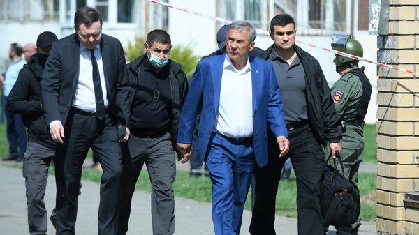 Глава Татарстана прокомментировал ситуацию после стрельбы в школе