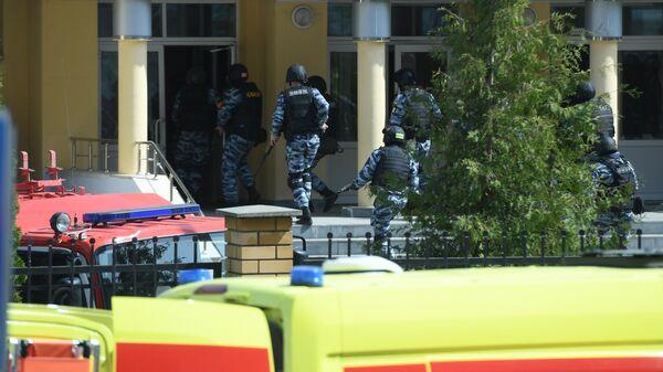 Одного из подозреваемых в стрельбе в казанской школе ликвидировали